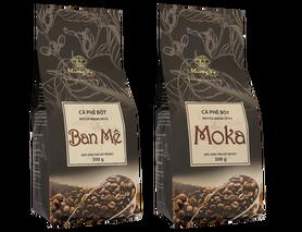 Zestaw kawa wietnamska Ban Me i Moka mielona 500g.