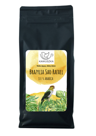 Kawa Brazylia Sao Rafael ziarnista 500g. SCA76