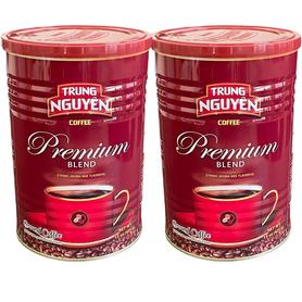 Kawa Wietnamska Premium Blend mielona, zestaw 2 X 425 g